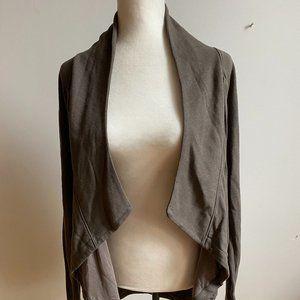 Helmut Lang open cascade sweater sz medium wool